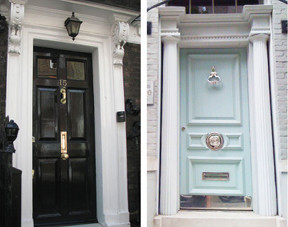 First Things First: A Glam Front-Door!