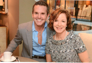 Dann Foley and Barbara Barry Private Luncheon and Book Launch at Baker Furniture, Los Angeles