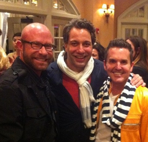 Beau Stinnette, Thom Filicia and Dann Foley Architectural Digest Party, High Point Market