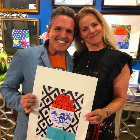 Dallas Market Center, StyleCraft Showroom, Summer 2018 Dann Foley, Mariska Meijers