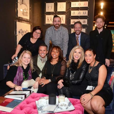 Dann Foley - Donna Moss - Michael Ruvo - Mitchell Black Team Las Vegas Market, Spring 2015