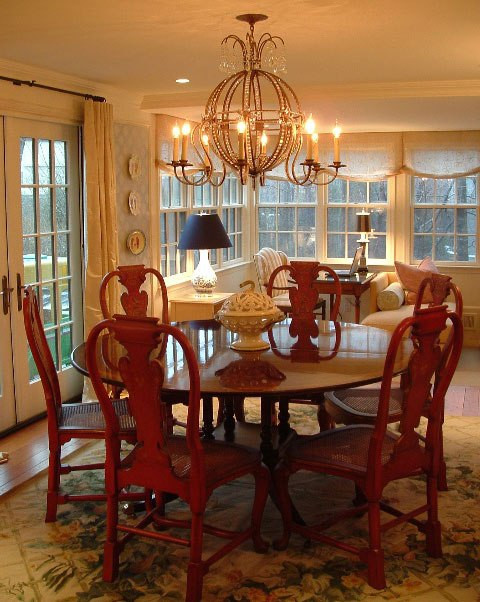 Dining Room and Window Seat