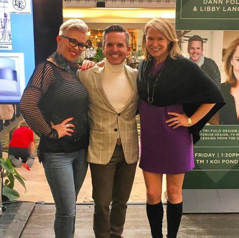 Dallas Market Center, Winter 2017 Kelli Ellis, Dann Foley, Libby Langdon