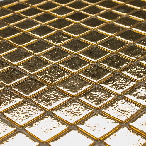 SeraBella Poly Altın Cam Mozaik