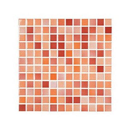 Versicolor Kırmızı+Turuncu Mozaik