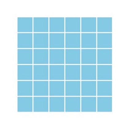 Açık Mavi Mozaik