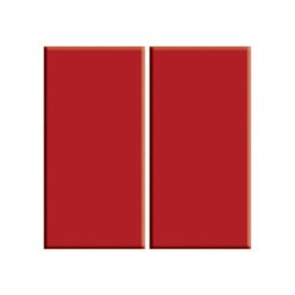 Serapool Porselen Kırmızı Karo