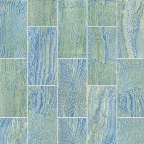 Water Wave - Natural Porselen Havuz Karosu