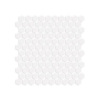 Hexagon Beyaz Mozaik
