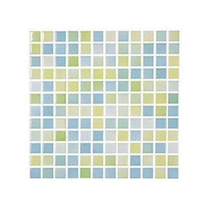 Versicolor Yeşil+Sarı Mozaik