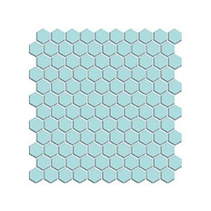 Hexagon Açık Mavi Mozaik
