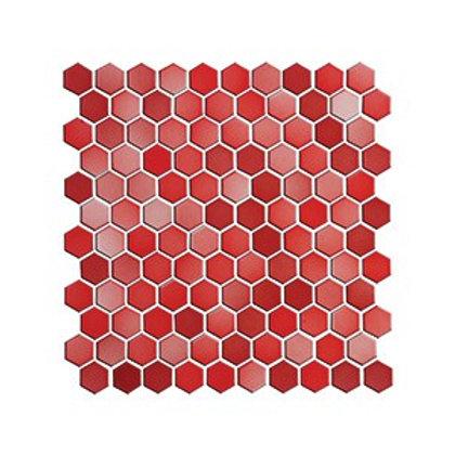 Hexagon Kırmızı+A. Kırmızı Mozaik