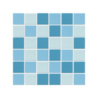 Üçlü Mavi Mozaik