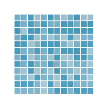 Mavi Üçlü Karışım Mozaik