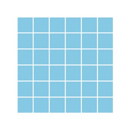 Açık Mavi Kaymaz Mozaik