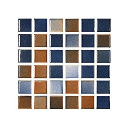 Versicolor Hardal+Lacivert Mozaik