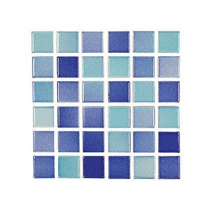 Versicolor Turkuaz+Lacivert Mozaik