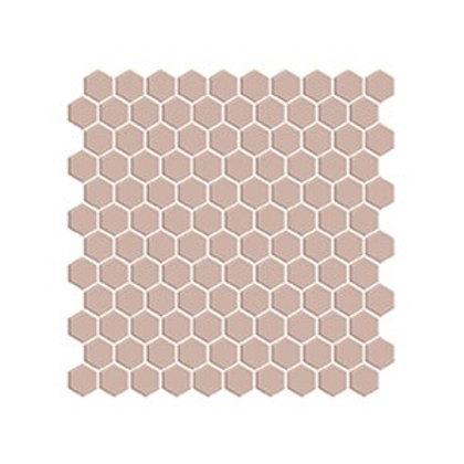 Hexagon Açık Kahve Mozaik