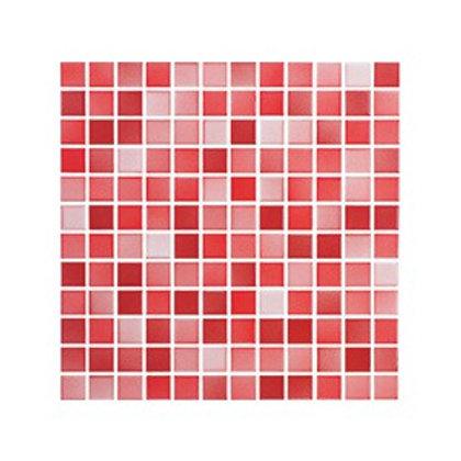 Versicolor Kırmızı+Açık Kırmızı Mozaik