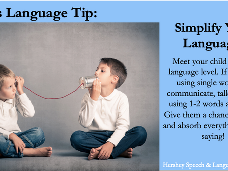 Tala's Tip: Simplify Your Language!