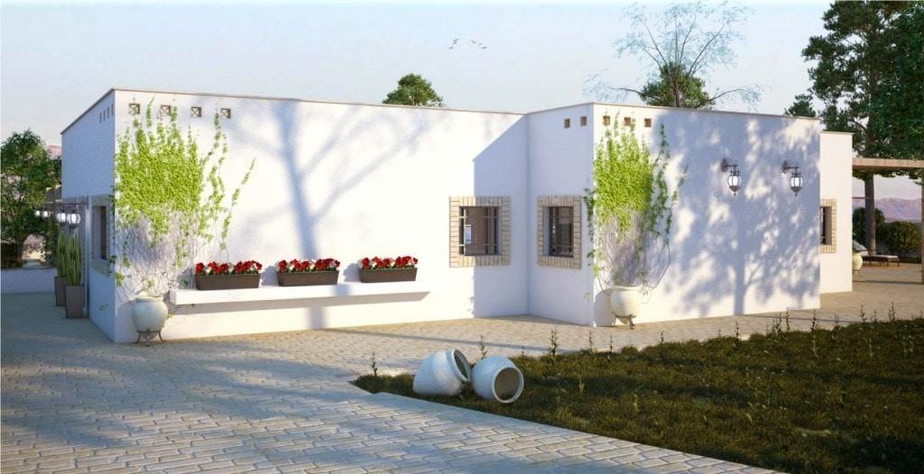 אדריכלות ועיצוב פנים במדבר