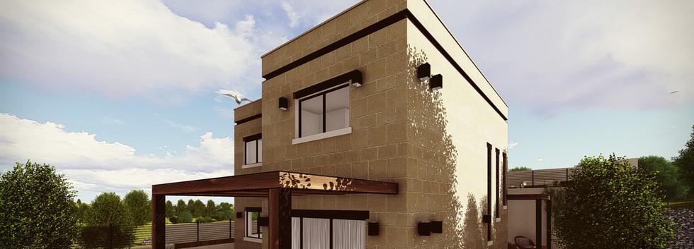 תכנון בית פרטי בשורש
