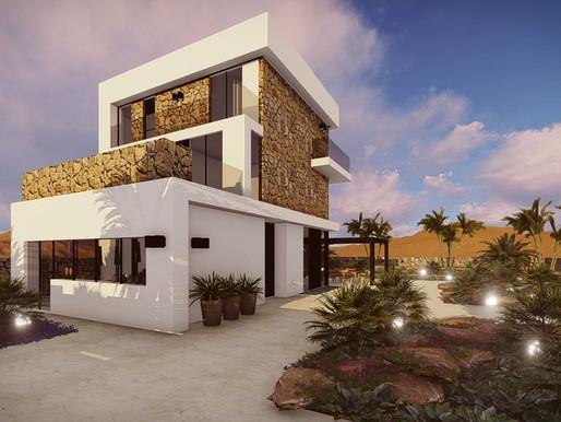 עיצוב בתים מודרניים