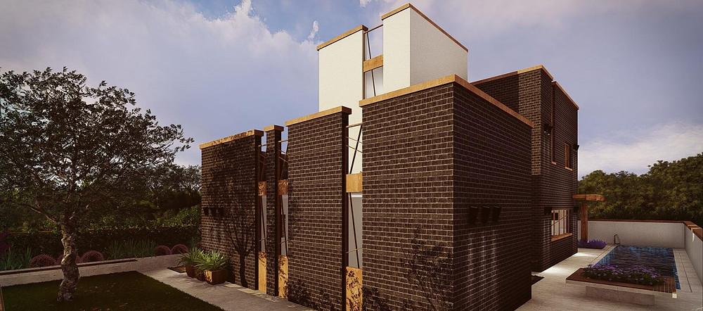 עיצוב בתים בסגנון מודרני