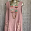 Thumbnail: Raspberry broidery anglaise linen dress