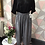 Thumbnail: Grey linen full length quirky pocket trousers