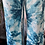 Thumbnail: Turquoise Tie dye crushed magic pants fitting up to a size 18