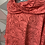 Thumbnail: Coral Rose Scalloped top, fitting up to a size 22