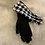 Thumbnail: Black and white gloves