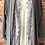 Thumbnail: Grey Cardigan with lace style inlay