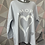 Thumbnail: Silver AMORE tunic fitting up to a size 18