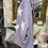 Thumbnail: Lilac stars hooded top fitting up to a size 24