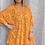 Thumbnail: Orange  Broidery Anglaise floaty top fitting up to a size 24