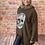 Thumbnail: Chocolate quirky skull top, fits up to  size 20