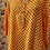 Thumbnail: Orange Polka Dot cotton top, fitting up to a size 18