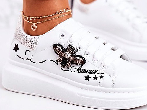 QUEEN BEE AMOUR TRAINERS