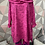 Thumbnail: Cerise Rose Scalloped top, fitting up to a size 22