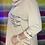 Thumbnail: Beige Sequin pocket cowl neck top fitting 10-16