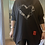Thumbnail: Black GIGI hearts and stars Red Tag zip to  fitting up to a size 20