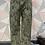 Thumbnail: Khaki Snake print Magic  Stretch Trousers fitting 10-20