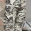 Thumbnail: Grey cargo Magic  Stretch Crushed Trousers fitting 8-18