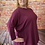 Thumbnail: Berry quirky elasticated top, fitting up to a size 22