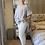 Thumbnail: White Sugar Magic  Stretch Trousers fitting 10-20