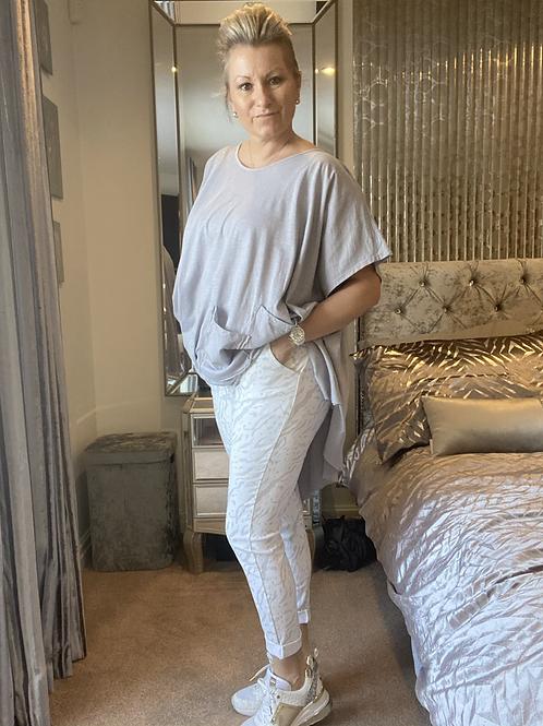 White Sugar Magic  Stretch Trousers fitting 10-20
