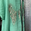 Thumbnail: Aqua Angel Wings linen top