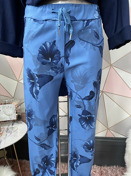 Blue Wow, Magic Joggers Fitting Up To A Size 20